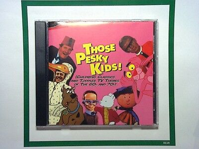 Those Pesky Kids! (Childrens Classic TV Themes Of The 60s And 70s) 2CD Nr Mint (Themes Of The 70s)