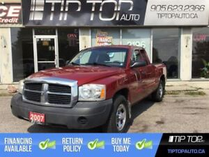 2007 Dodge Dakota ST ** 4X4, V6, Low Kms, Great Truck, Great Pri