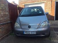 Mercedes A140 For sale 200£