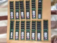 PC Memory DDR2 PC memory modules 15 x 512MB sticks £10 the lot