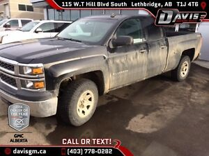 Used 2014 Chevrolet Silverado 1500 2WT Double Cab-Split Bench Se