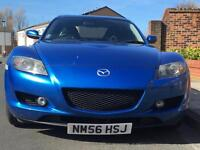 Mazda RX8 2006 Winning Blue Long MOT