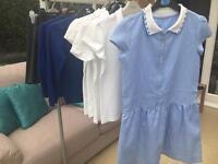 Girls school uniform age 8-9 (10 items)