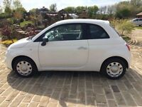 Fiat 500 POP, White, Imaculate Condition, Long MOT, Service History, Priced For Quick Trade Sale