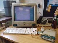 Vintage Apple MACINTOSH IMac FULLY WORKING Free Manchester Delivery