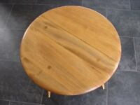 Mid Century Ercol Drop-Leaf Occasional Table / Coffee Table
