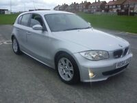 BMW 118d SE, 6 SPEED,5DR,DEC MOT, FMDSH,FANTASTIC MPG,RUNS AND DRIVES LIKE NEW AND ULTRA RELIABLE.