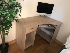 Oak Style Corner Desk
