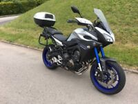 Nice mt09 Tracer with low miles, service history and full luggage.