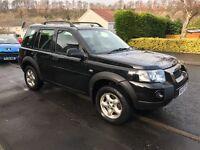Land Rover freelander adventurer TD