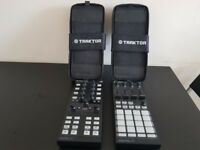 Traktor Kontrol X1 and F1 plus 2 cases (Not used, brand new condition, kept in cases)