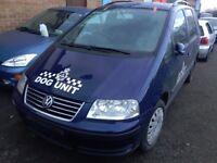 2006 VW SHARAN 1.9 DIESEL BLUE(LD5Q) MANUAL,''BREAKING'' PARTS FOR SALE