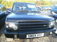 LAND ROVER DISCOVERY 2.5 Td5 Pursuit 5 seat 5dr LOVELY IN BLACK 7 SEATER FULL YEARS MOT (black) 2004