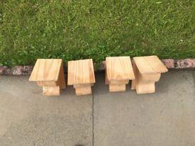 Speaker Mounts - Wooden