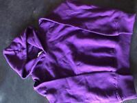 Boys / girls purple hoodie age 3-4 yrs