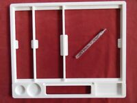 Embossing Boards + holder and ball tool