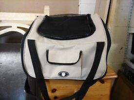 small/med dog car seat 1 month old