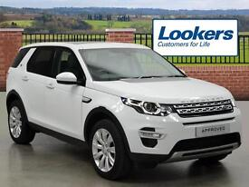 Land Rover Discovery Sport SD4 HSE LUXURY (white) 2015-03-31