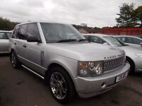 *RANGE ROVER*VOGUE V8 AUTO 4.4*METALLIC SILVER*LUXURY SPEC!*PRIVATE REG*HEATED LEATHER*ONLY £5995*