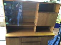 Mid century g plan style sideboard highboard cabinet