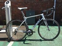 Giant TCR Advanced Pro 1 M/L Road Bike - With Upgrades