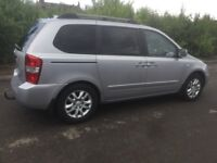 7 SEATER AUTOMATIC KIA SEDONA DIESEL 2007 5DR FULL YEAR MOT EXCELLENT CONDITION
