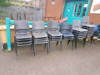 Grey stacking chairs (x200 in stock)