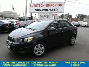 2014 Chevrolet Sonic LT Auto HtdSts/Btooth/Camera &GPS*$35/wkly
