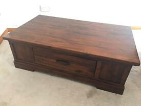 Coffee table, trunk, chest
