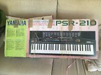 Yamaha portable keyboard PSR - 210