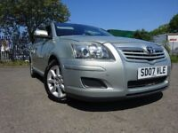 07 TOYOTA AVENSIS T3-S D-4D 2.0 DIESEL,MOT FEB 019,2 OWNERS FROM NEW,2 KEYS,FULL HISTORY,LOVELY CAR