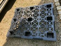 Plastic Pallets - various types - excellent condition - need a new home