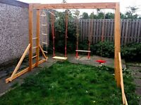 For Sale my Wooden Monkey Bars