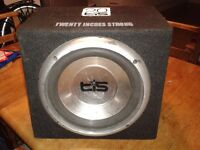 Sony Amplifier, TIS Audio Sub Woofer, Kenwood Car Stereo