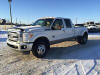 2011 Ford F-350 6.7L LARIAT, LEATHER, CREW CAB, LONG BED, H/SEAT