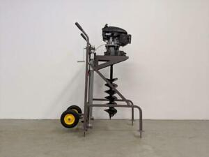 HOC PME-ZD001 1 MAN AUGER 2 MAN AUGER DOLLY AUGER ICE AUGER + 5 BITS + 1 YEAR WARRANTY + FREE SHIPPING