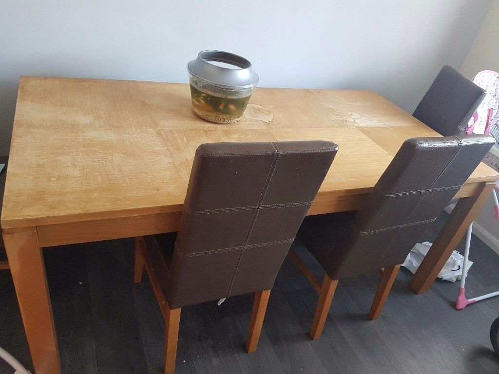 Dining Table No Chairs In Billingham County Durham