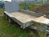 ifor williams 3.5 ton plant trailer