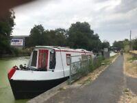 30ft Sturn Narrow boat, houseboat, liveaboard, canal boat, cabin cruiser £22,000 Ono