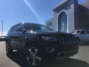 2016 Jeep Grand Cherokee LIMITED 4x4 LEATHER/SUNROOF