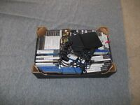 Play station 2 slim console and 66 games, 1 controller and a couple