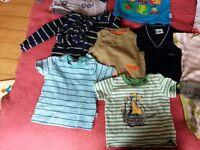 Baby boy clothes bundle 6-12 month