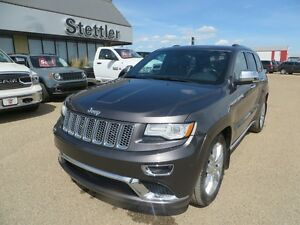 2015 Jeep Grand Cherokee SUMMIT ECO-DIESEL!! EXTENDED WARRANTY!!