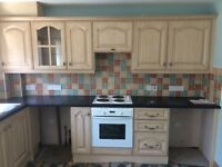 Kitchen for sale ( house rent oven cooker washing machine utility room shed garage