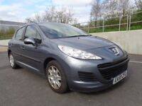 2009 PEUGEOT 207 MANUAL DIESEL 5 DOOR HATCHBACK , GOOD RUNNER , 3 MONTHS WARRANTY