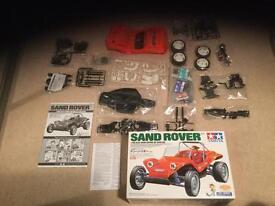 Tamiya sand Rover kit with XB shell.