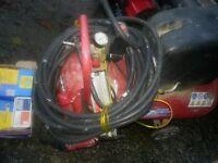 air compresser and gun/staples/ nails