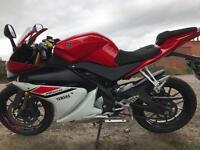 2015 Yamaha yzf125r race Rep 1300 miles very clean -finance etc £2850