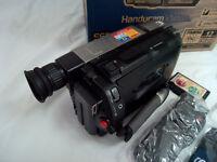 Sony Handycam CCD-TRV65E PAL Hi8 Video Camera Camcorder, Night Shot, 0 Lux