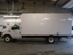 2015 Ford E-350 Cube Van 16 ft